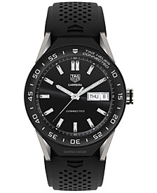 TAG Heuer Modular Connected 2.0 Men's Swiss Black Rubber Strap Smart Watch 45mm