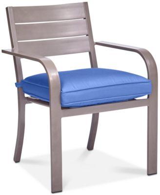 Ocean Port Aluminum Outdoor Dining Chair