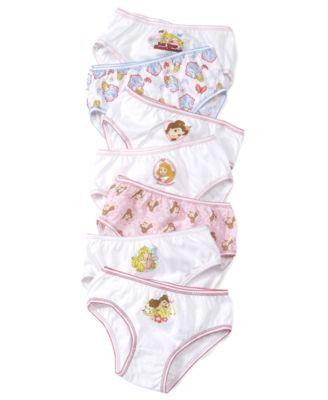 Pack of 7 Disney Girls Underwear