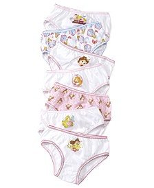 Princesses 7-Pack Cotton Underwear, Little Girls & Big Girls