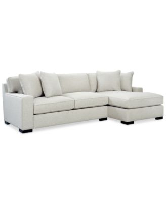 Bangor 2-Pc. Sectional Sofa with Chaise Created for Macyu0027s - Furniture - Macyu0027s  sc 1 st  Macyu0027s : macys chaise - Sectionals, Sofas & Couches