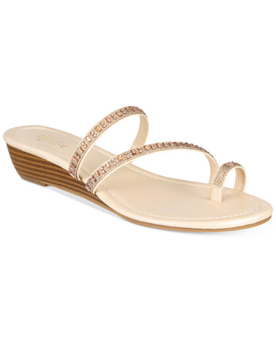 Style & Co Hayleigh Wedge Sandals, Created for Macy's