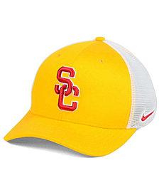Nike USC Trojans Aero Bill Mesh Swooshflex Cap