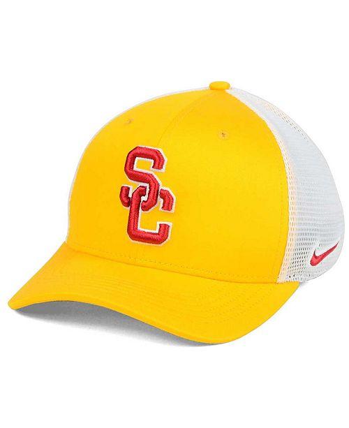 7d37d33844d5c Nike USC Trojans Aero Bill Mesh Swooshflex Cap - Sports Fan Shop By ...