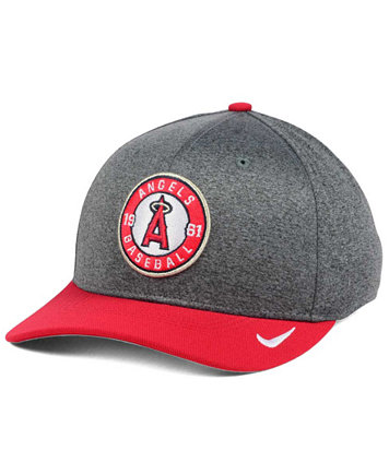 new style 1b26d 63954 Image 1 of Nike Los Angeles Angels of Anaheim Hight Tail 2Tone Flex Cap