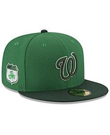 New Era Washington Nationals St. Pattys Diamond Era 59FIFTY Cap
