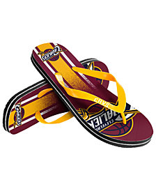 Forever Collectibles Cleveland Cavaliers Gradient Big Logo Flip Flops
