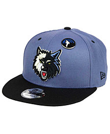 New Era Minnesota Timberwolves Pintastic 9FIFTY Snapback Cap