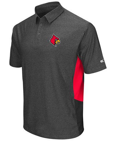 Colosseum Men's Louisville Cardinals The Bro Polo