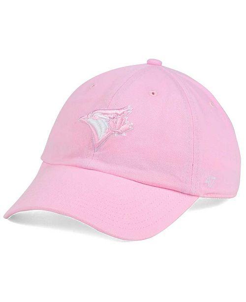 Women's Toronto Blue Jays Pink/White Clean Up Cap
