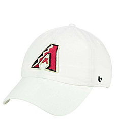 '47 Brand Arizona Diamondbacks White Clean Up Cap