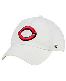Cincinnati Reds White Clean Up Cap
