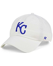 Kansas City Royals White Clean Up Cap
