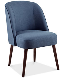 Bexley Rounded Back Dining Chair, Quick Ship
