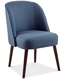 Bradley Rounded Back Dining Chair, Quick Ship