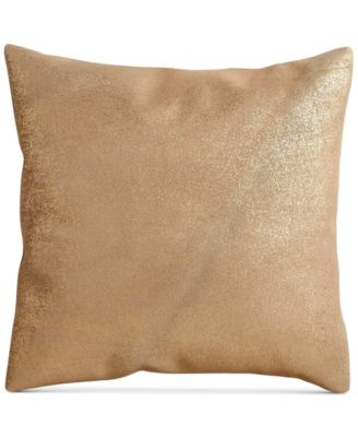 "Opal Essence Leather 16"" Square Decorative Pillow"