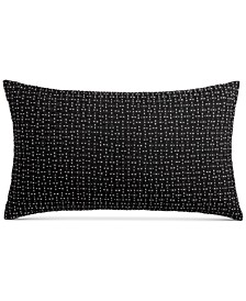 "Greek Key 12"" x 22"" Decorative Pillow, Created for Macy's"