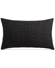 "Hotel Collection Greek Key 12"" x 22"" Decorative Pillow, Created for Macy's"