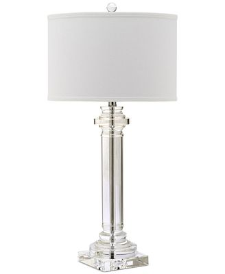 Safavieh Nina Crystal Table Lamp Lighting Lamps Home Macy S