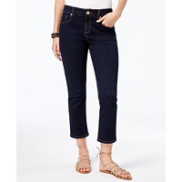 INC International Concepts Curvy-Fit Cropped Skinny Jeans