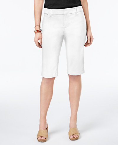 Style & Co Bermuda Shorts, Created for Macy's - Shorts - Women ...