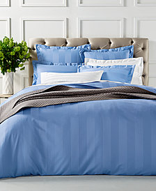 Charter Club Damask Supima Cotton 550-Thread Count Bedding Collection, Created for Macy's