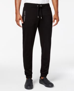 Versace JEANS MEN'S DRAWSTRING LOGO JOGGER PANTS