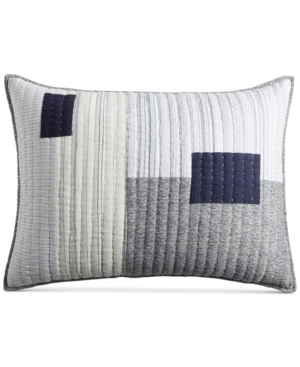 Hotel Collection Patchwork Quilted King Sham Created for Macys Bedding