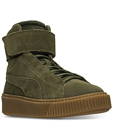 Puma Women's Suede Platform Mid OW Casual Sneakers from Finish Line