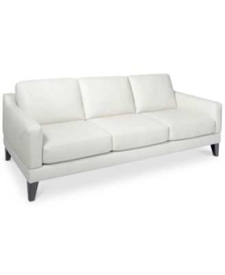 Delena Leather Sofa Only At Macy S Furniture Macy S