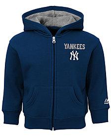 Majestic New York Yankees Inside-the-Park Full-Zip Hoodie, Baby Boys (12-24 months)