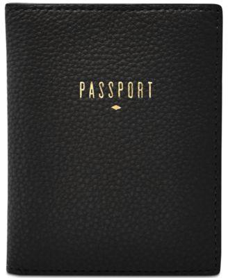 Fossil Women RFID Passport Case