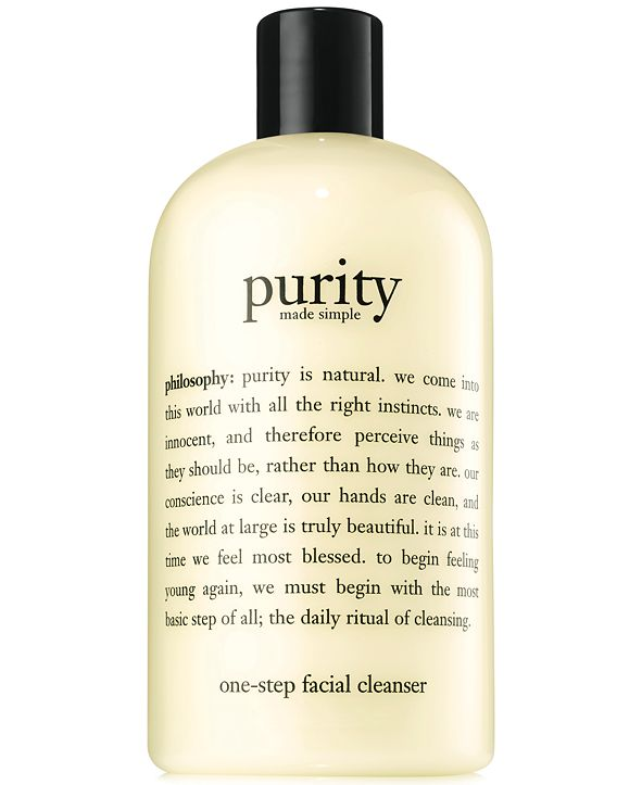 philosophy purity made simple cleanser, 16 oz