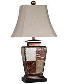 StyleCraft Austin Patchwork Table Lamp