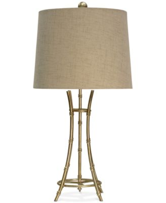 Great StyleCraft Bamboo Table Lamp