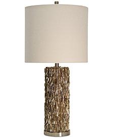 StyleCraft Mystic Capiz Table Lamp