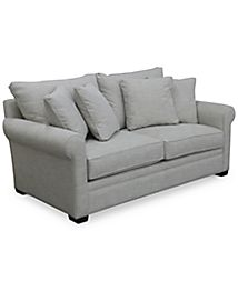 Dial II Sofa with 4 Toss Pillows - Furniture - Macy\'s