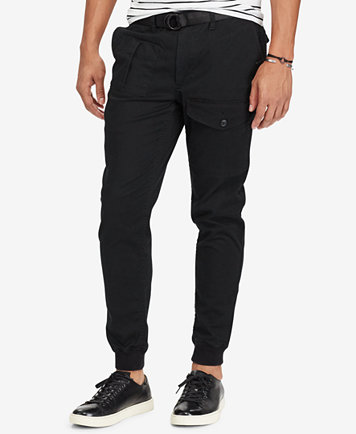 Polo Ralph Lauren Men's Stretch Straight Fit Jogger Pants - Pants - Men -  Macy's