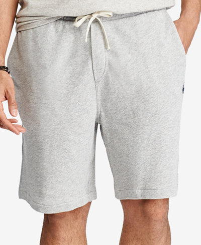 Polo Ralph Lauren Men's Big & Tall French Terry Cotton Shorts ...