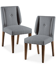 Portland Set of 2 Dining Chairs, Quick Ship