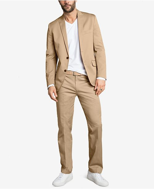 INC International Concepts INC Men's Stretch Slim Suit Separates, Created for Macy's