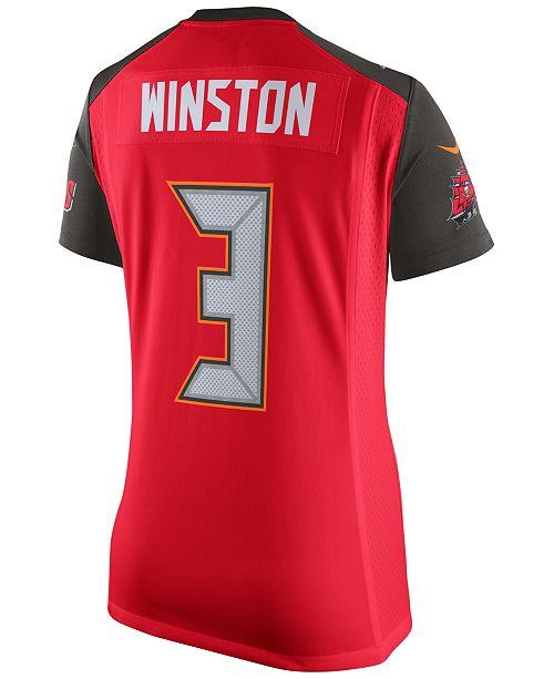 Nike Women's Jameis Winston Tampa Bay Buccaneers Game Jersey