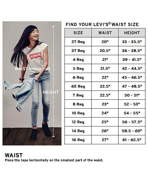 Levi S 710 Plus Sizes Super Skinny Jean Big Girls 7 16 Plus