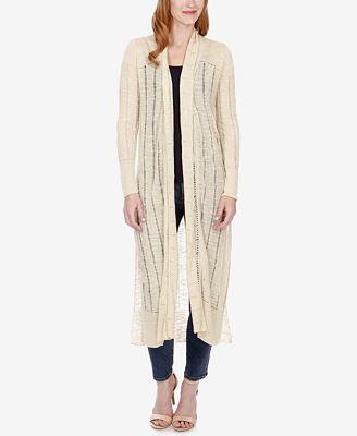 Lucky Brand Open-Knit Duster Cardigan - Sweaters - Women - Macy's