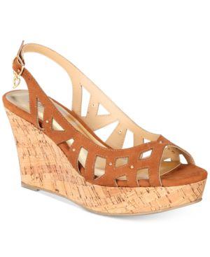 Thalia Sodi Ebbie Platform Wedge Sandals, Created for Macy