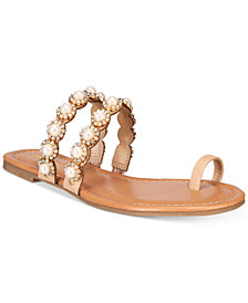 Thalia Sodi Joya Toe-Ring Flat Sandals, Created for Macy's