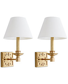 Safavieh Set of 2 Elvira Wall Sconces