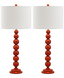Safavieh Set of 2 Irene Table Lamps