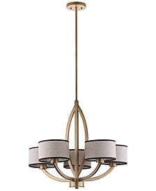 Safavieh Talia 5-Light Gold-Tone Chandelier