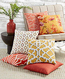 LAST ACT! Hallmart Collectibles Coral Decorative Pillow Collection